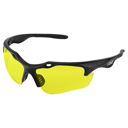 Picture of Yellow Lense Anti-Scratch Safety Glasses w/ 99.99% UV Protection and ANSI Z87.1 Standards