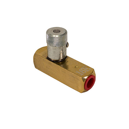 "Picture of 1/4"" Brass Flow Control Valve - NPT"