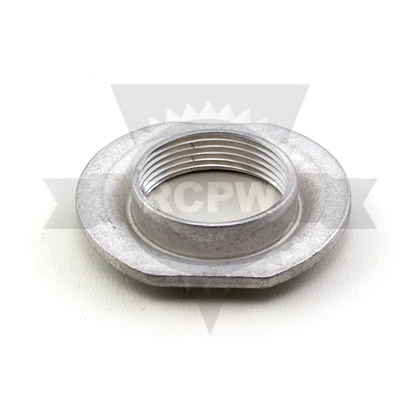 "Picture of 1-1/4"" Aluminum Stamped Welding Flange - 2.868"" OD - 1.740"" Pilot - .134"" Thickness"