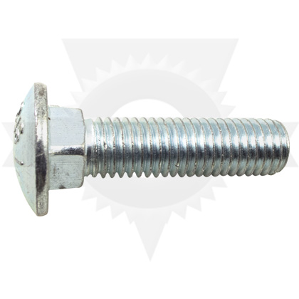 "Picture of Zinc Carriage Bolt - 5/8""-11 x 2-1/2"" (each)"