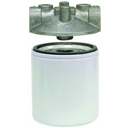 "Picture of Filter Head - 9/16""-18 UN - No Bypass - HFA0-Series"