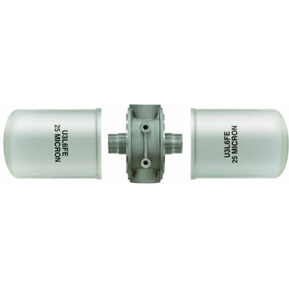 "Picture of Filter Head - 1-1/2"" NPT - 25 PSI Bypass - HFA3-Series"