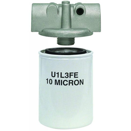 "Picture of Filter Head - 1/2"" NPT - 25 PSI Bypass - HFA6-Series"