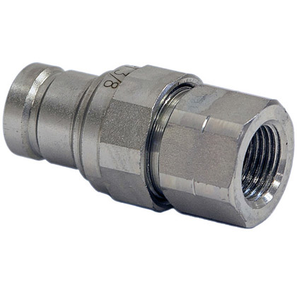 "Picture of Male Flush Face Plug - 3/8"" x 3/8"" Port NPT"