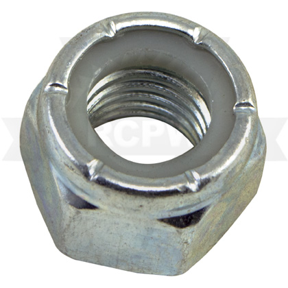 "Picture of Zinc Nylon Lock Nut - 5/8""-11"
