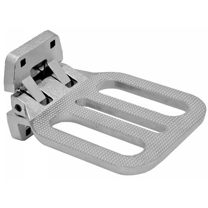 Picture of Die Cast Aluminum Heavy Duty Cast Aluminum Folding Step - Meets NFPA Specs