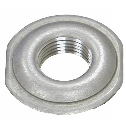 "Picture of 1-1/4"" Stainless Steel Stamped Welding Flange - 2.847"" OD - 1.745"" Pilot - .134"" Thickness"