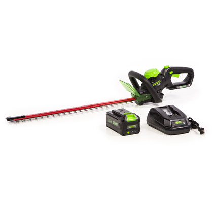 "Picture of 24"" 40V Hedge Trimmer with Lithium 3Ah Smart Battery and 2.2A Charger"