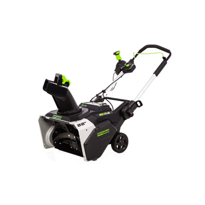 """Picture of 82V Commercial 22"""" Brushless Snow Thrower with Lithium-Ion 4.0 Ah Battery and Charger"""