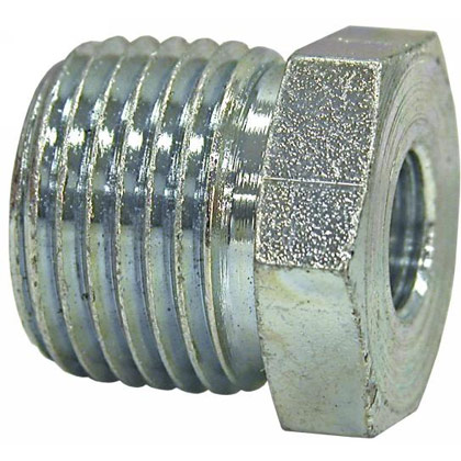 """Picture of Reducer Bushing - 1/2"""" Male x 1/8"""" Female"""