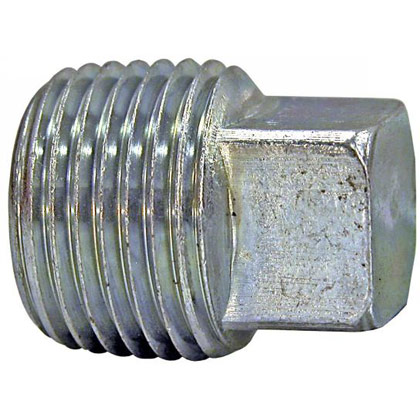 "Picture of Square Head Plug - 1/8"" Male Pipe Thread"