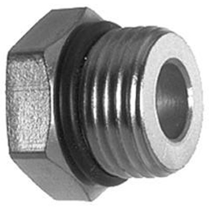 """Picture of Straight Thread O-Ring Adapter - 1"""" Male x 1/2"""" Female"""