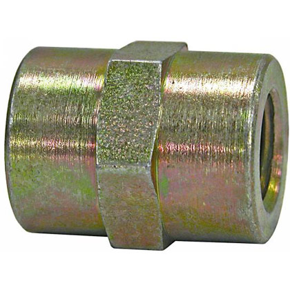 "Picture of Coupling - 1/2"" Female - 3/8"" Female"