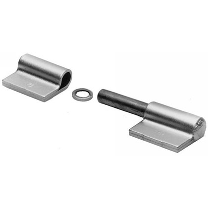 "Picture of Left Hand Butt Hinge - 4"" L x 1.25"" W with 3/8"" Pin"