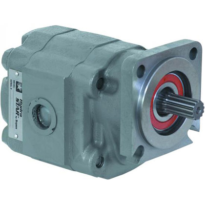 "Picture of Live Floor Hydraulic Pump - 4 Bolt - 7/8-13 Spline Shaft - 1-3/4"" Gear Width"