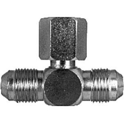 """Picture of Swivel Nut Branch Tee - 1/2"""" Tube OD"""