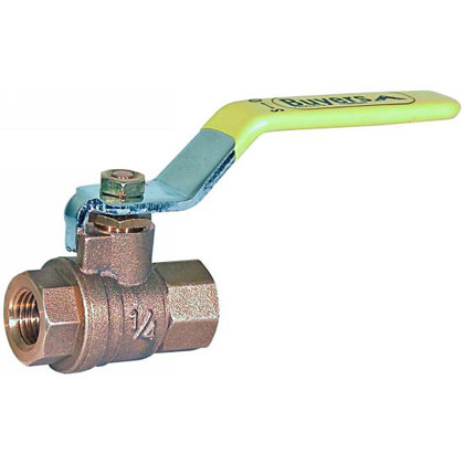 "Picture of Ball Valve - Full Flow - 1/4"" Valve Size"