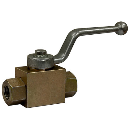 """Picture of 1/2"""" NPTF 2-Port High Pressure Ball Valve"""