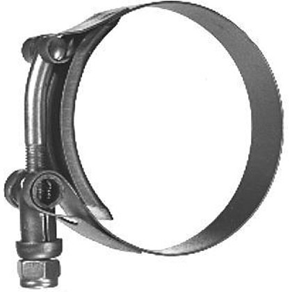"Picture of T-Bolt Clamp - 3.53""-3.84"" Adjustable Diameter - 3-3/4"" Nominal Diameter"