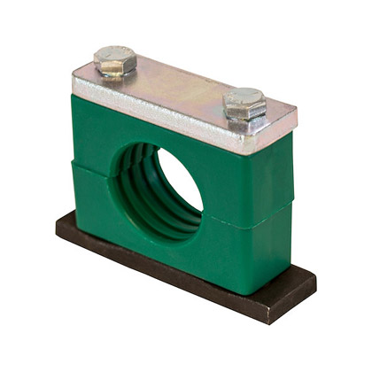 """Picture of Heavy-Duty Series Clamp for Pipe - 1/4"""" I.D."""