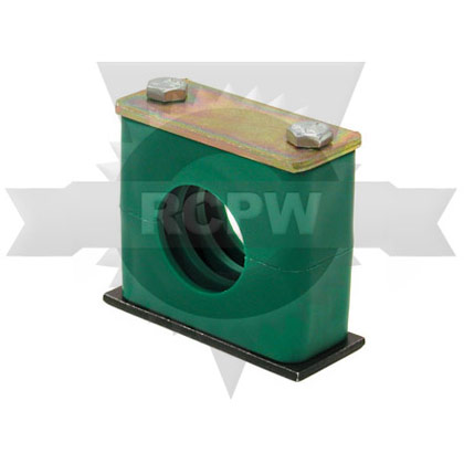 "Picture of Heavy-Duty Series Clamp for Tubing - 3/8"" I.D."
