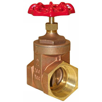 "Picture of Gate Valve - Full Flow - 3/4"" Valve Size"