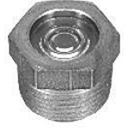 "Picture of 1"" NPT Sight Level Gauge - Zinc Plated"