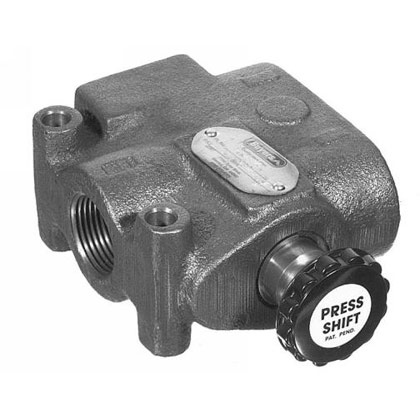 "Picture of Two Position Press Shift Selector Valve - 1/2"" NPTF"
