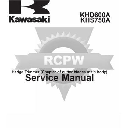 Picture of KHD600A Engine Service Manual