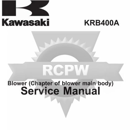 Picture of KRB400 Service Manual