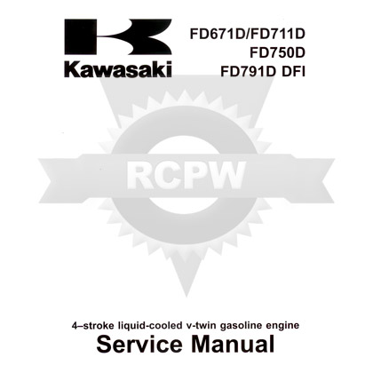 Picture of FD671D-FD791D Service Manual
