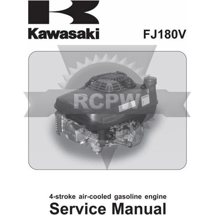 Picture of FJ180V Engine Service Manual