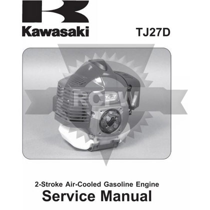 Picture of TJ27D Engine Service Manual