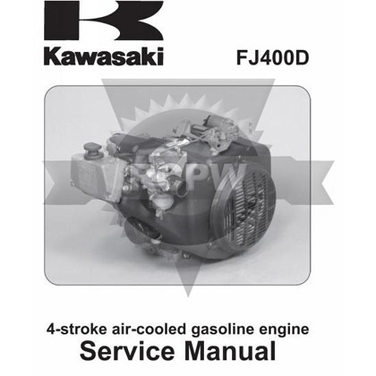 Picture of FJ400D Engine Service Manual