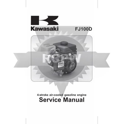 Picture of FJ100D Engine Service Manual