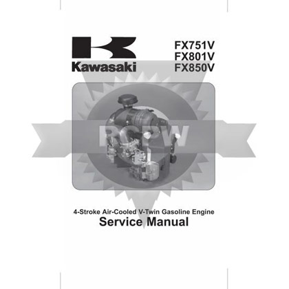 Picture of FX751V-FX850V Engine Service Manual