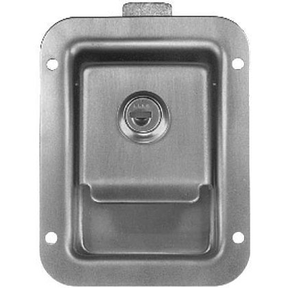 Picture of Locking Junior Size Stainless Steel Single Point Latch