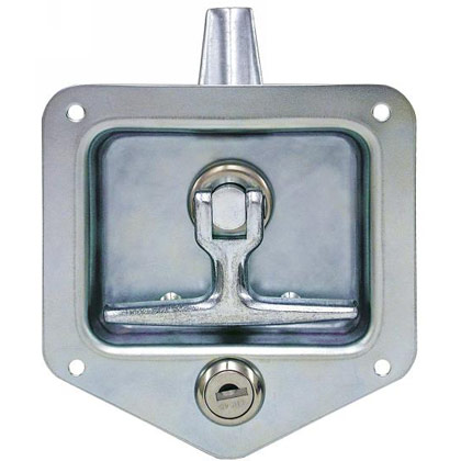 Picture of Folding T-Handle Latch with Single Latch Point and Mounting Holes