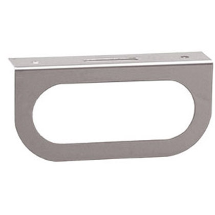 Picture of Single Oval Light Mounting Bracket - Stainless Steel