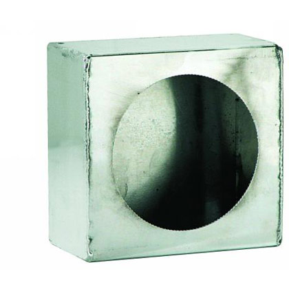 Picture of Single Round Light Box - Stainless Steel