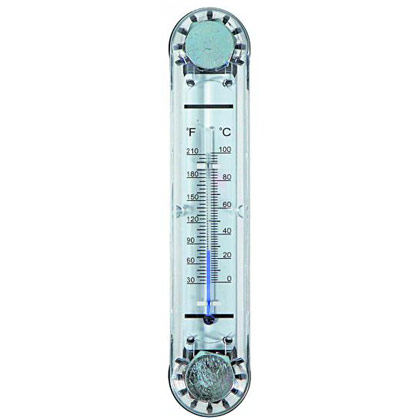 Picture of Polymer Oil Level Gauge with Temperature Indicator