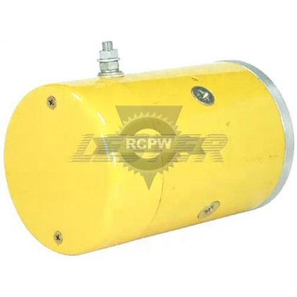 "Picture of 4-1/2"" Single Terminal Motor For Older Style Pumps"