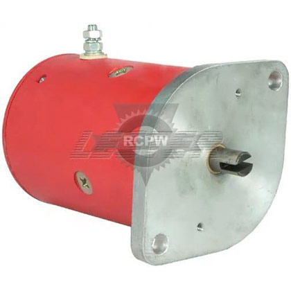 "Picture of 4-1/2"" Replacement Western Snow Plow Motor"