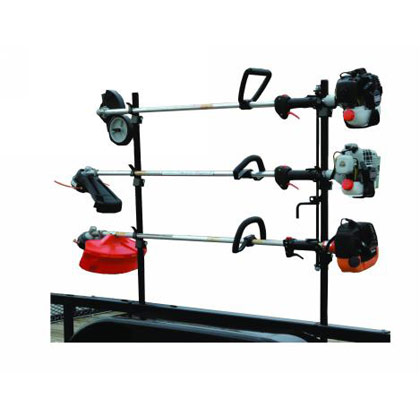 Picture of 3-Position Lockable Trimmer Rack with Snap-in Design for Open Trailers
