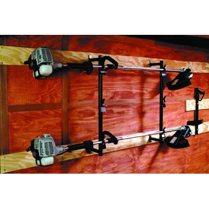 Picture of 3-Position Trimmer Rack with Snap-in Design for Enclosed Trailers