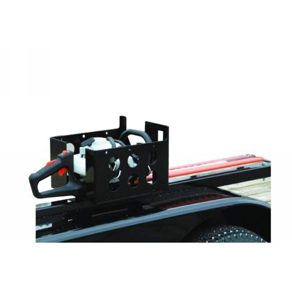 Picture of Trailer Multi-Rack for Protecting Hedge Trimmers Chainsaws or Handheld Blowers