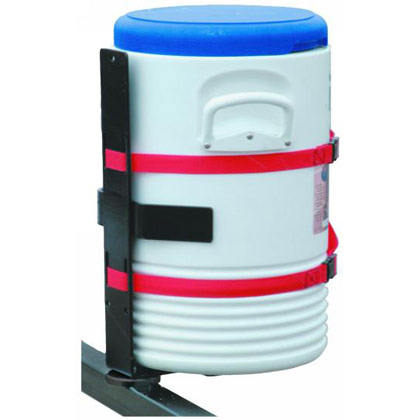 Picture of Trailer Water Cooler Rack Holds Most Standard Coolers