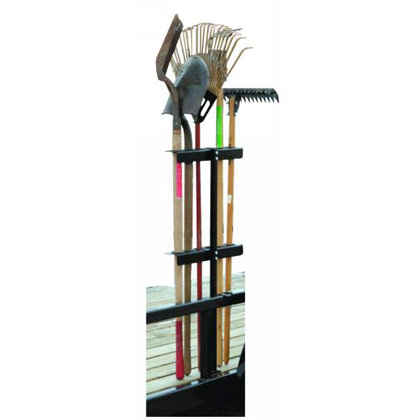 Picture of Hand Tool Rack for Open Trailers Holds 6 Straight Handle Tools