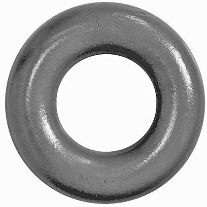 """Picture of 1-5/8"""" Forged Weld-on Lunette Eye with 3"""" ID and 6-1/4"""" OD"""