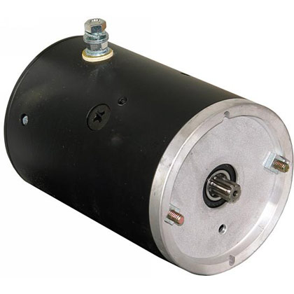 Picture of 12V Clockwise DC Motor with 9 Spline Output Shaft